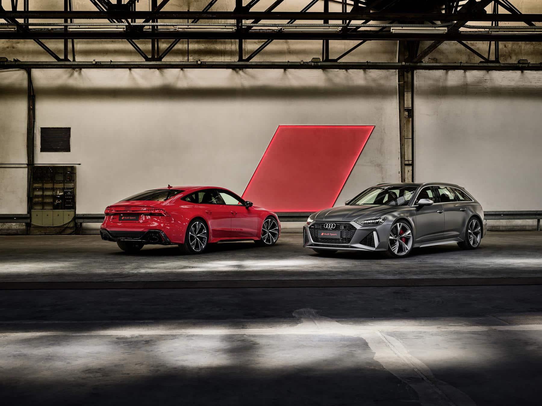 Audi Audi RS6 Avant and RS7 Sportback