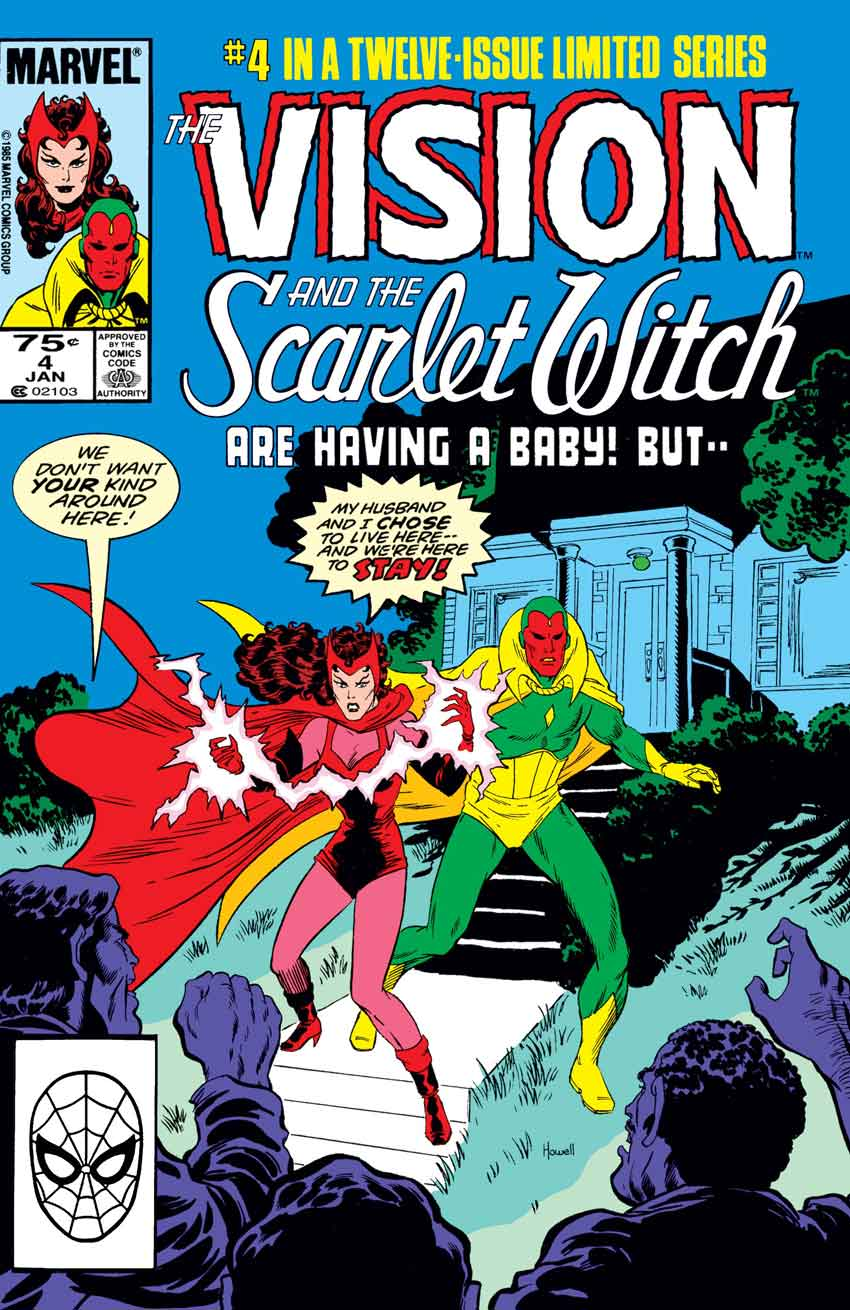 WandaVision Comics Vision & The Scarlet Witch