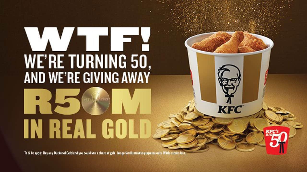 KFC Golden Bucket Competition