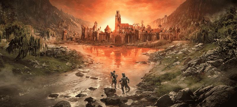 The Elder Scrolls Online Blackwood The Elder Scrolls Online Console Enhanced PS5 Xbox Series X
