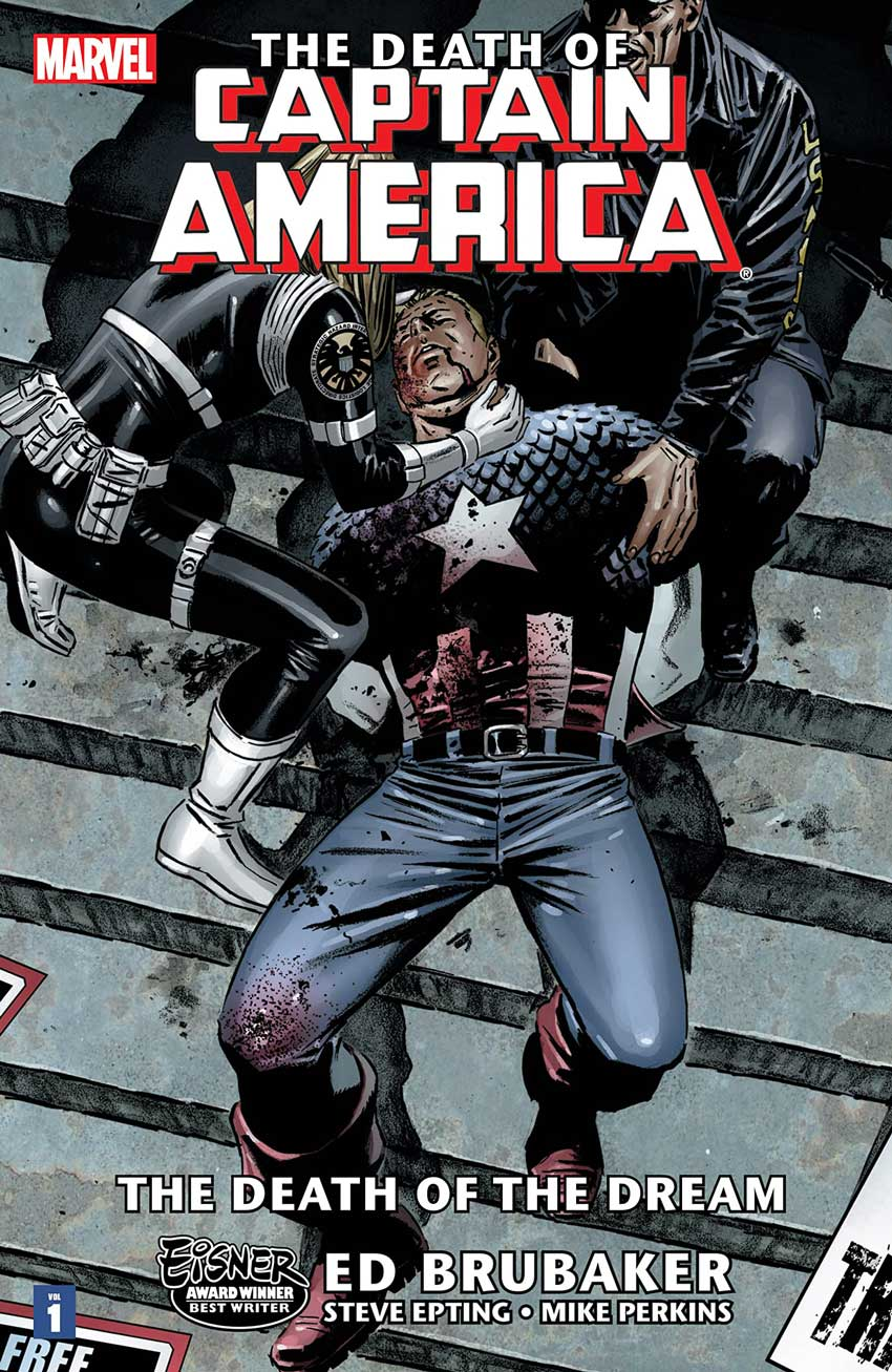 Falcon and the Winter Soldier The Death of Captain America