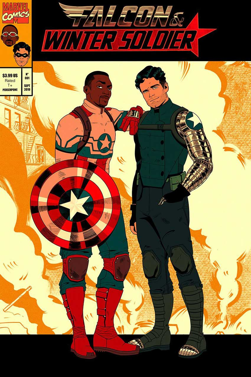 Falcon and the Winter Soldier The Death of Captain America All-New Captain America