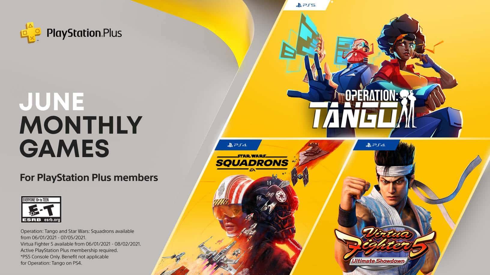 June PlayStation Plus