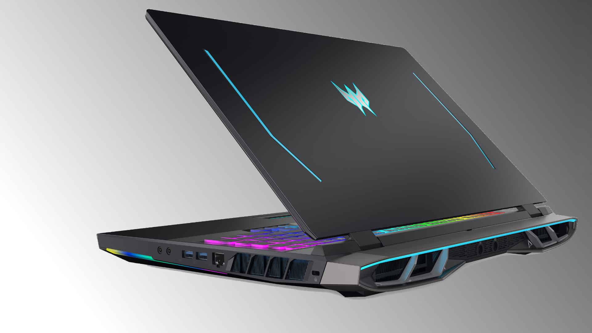 The New Acer Predator Gaming Notebooks Pack 3080s and Mini LED Displays