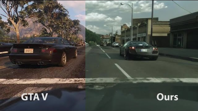 GTA V Looks Incredibly Realistic Thanks to Intel Machine Learning