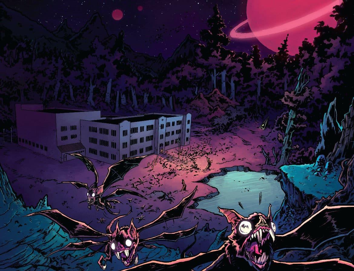The Woods Comic