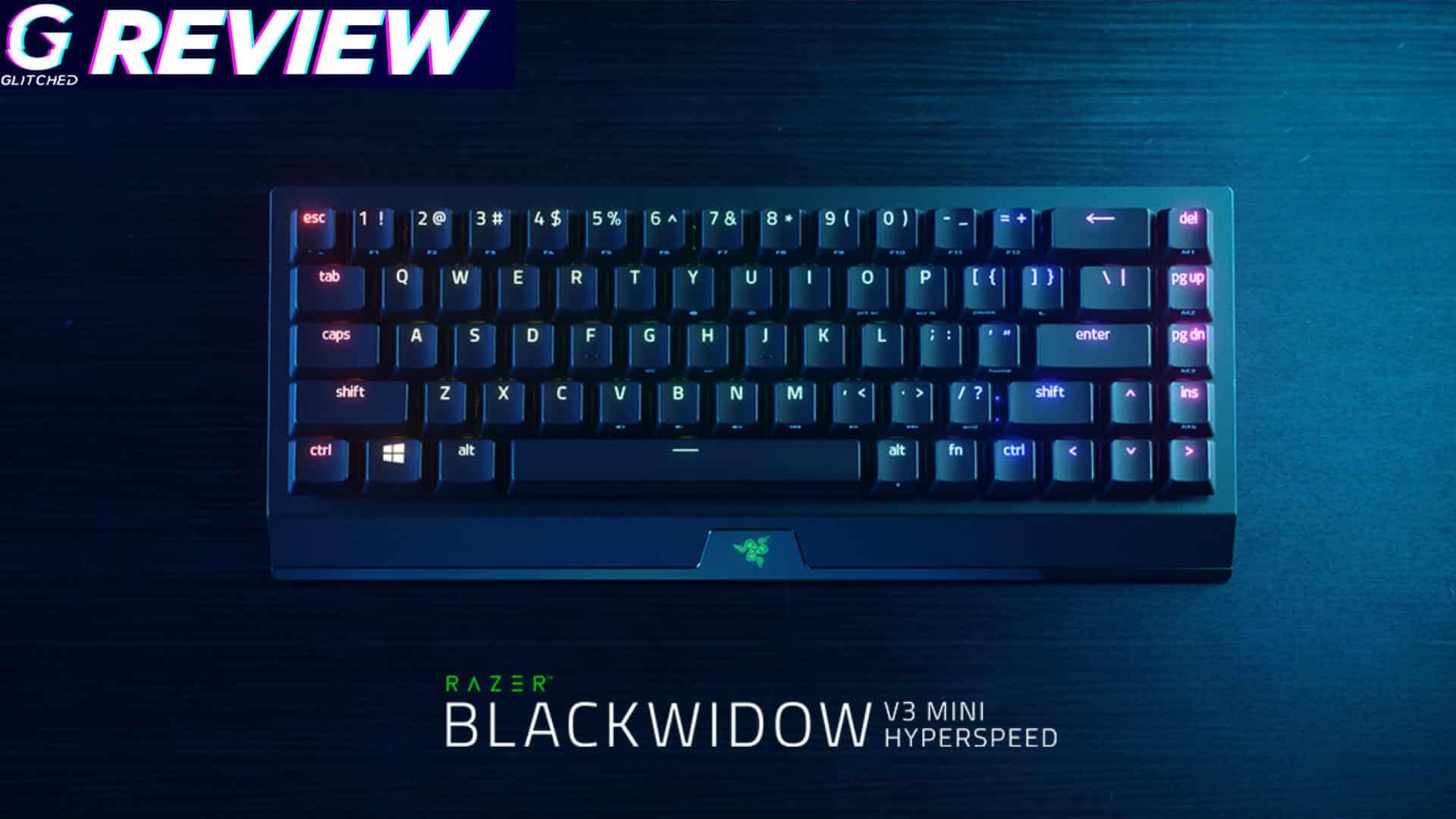 Razer Blackwidow V3 Mini Hyperspeed Gaming Keyboard Review