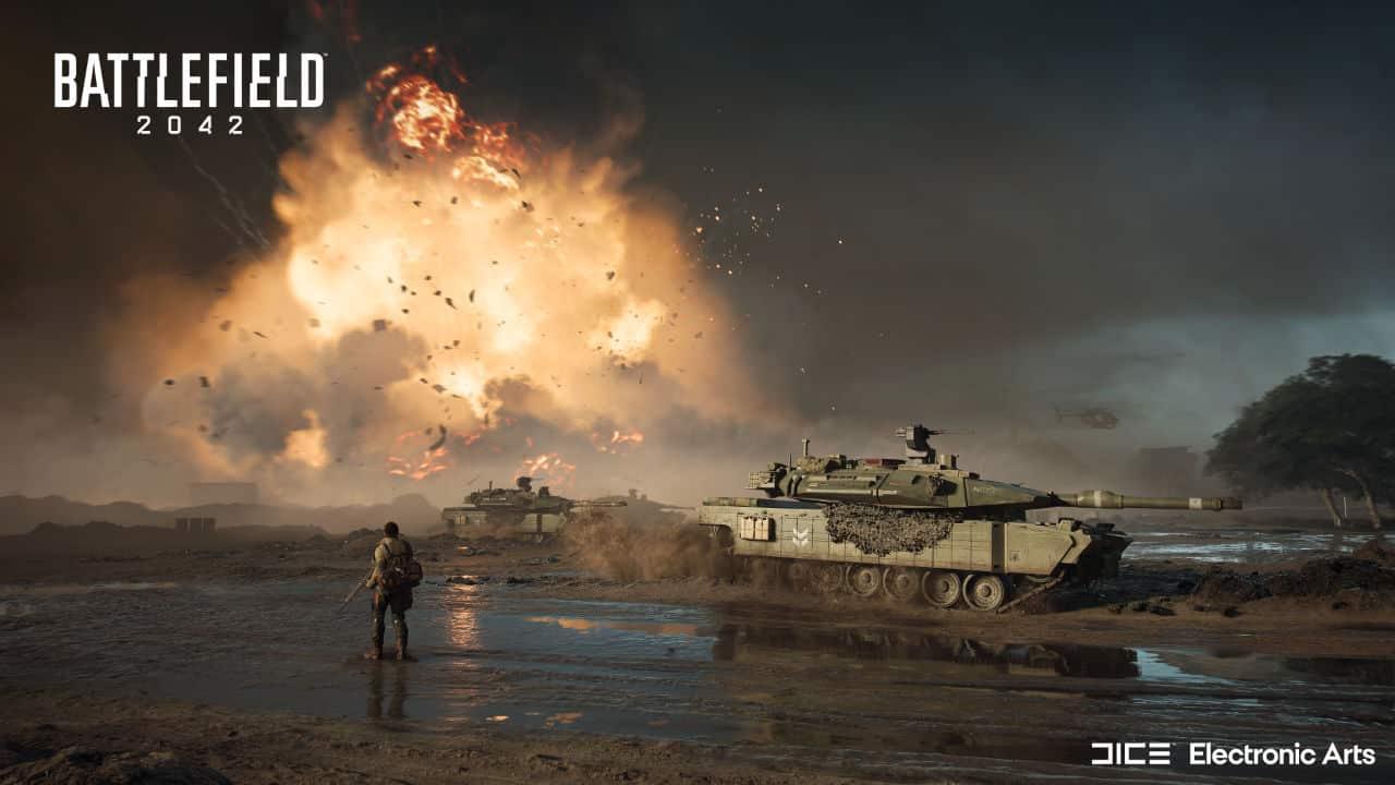 Battlefield 2042 Battle Royale Mode Battlefield Hub NVIDIA DLSS