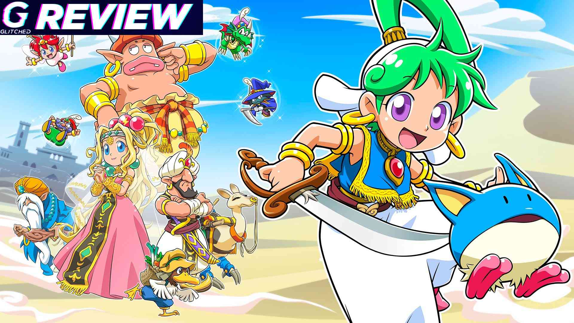 Wonder Boy Asha in Monster World Review