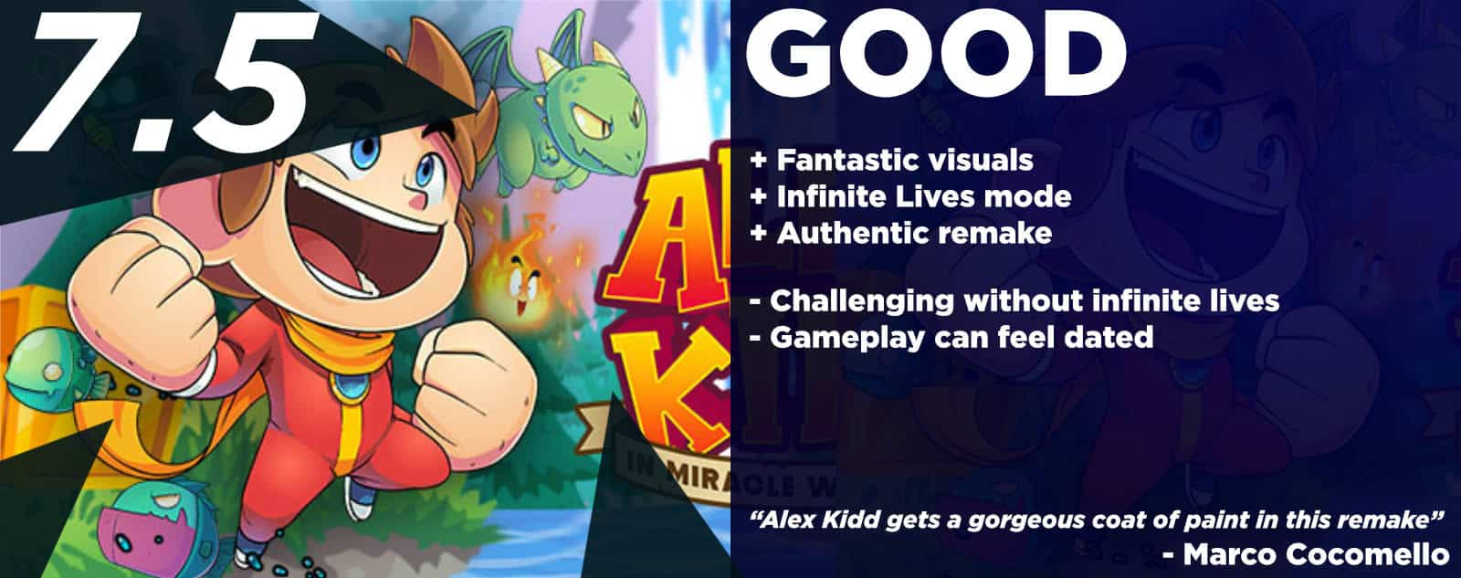 Alex Kidd in Miracle World DX Review - Ching-Chong-Cha