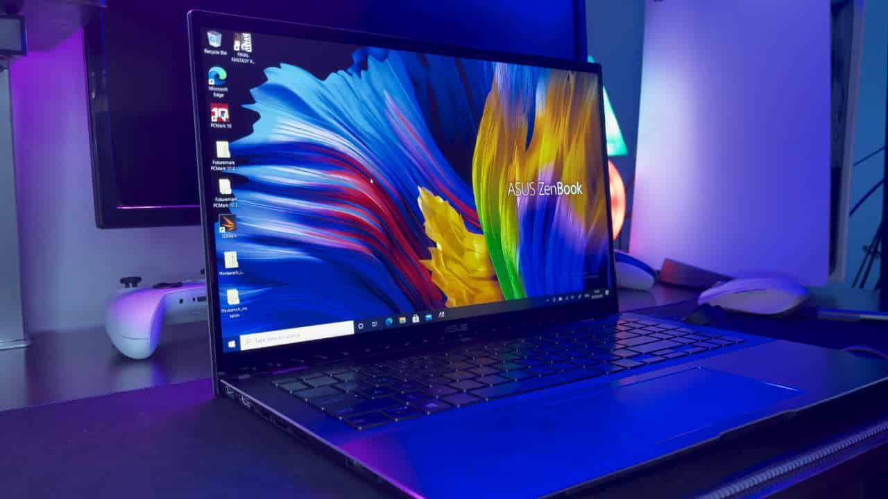 ASUS ZenBook Flip 15 UX564P Review