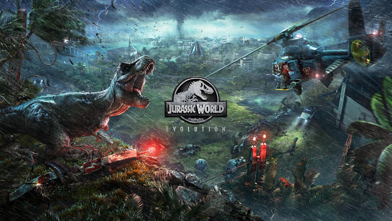 Jurassic Park Video Game Jurassic World Evolution