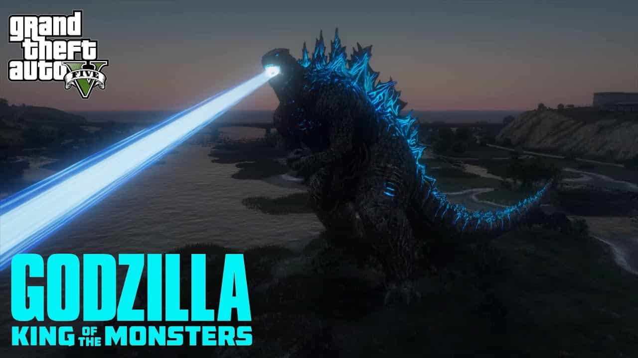 The GTA V Godzilla Mod Sees You Live Your Monster Fantasy