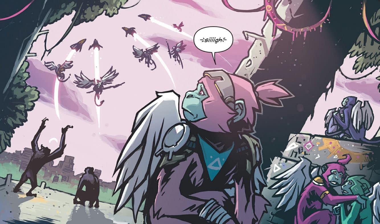 Angelic Comic