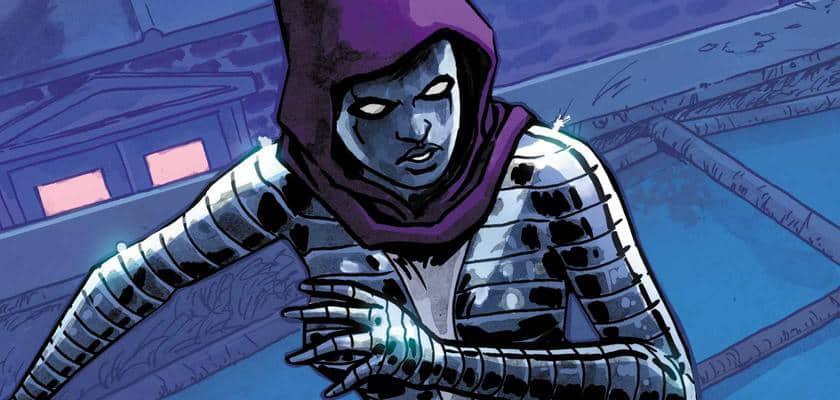 Black Widow Comic vs Screen