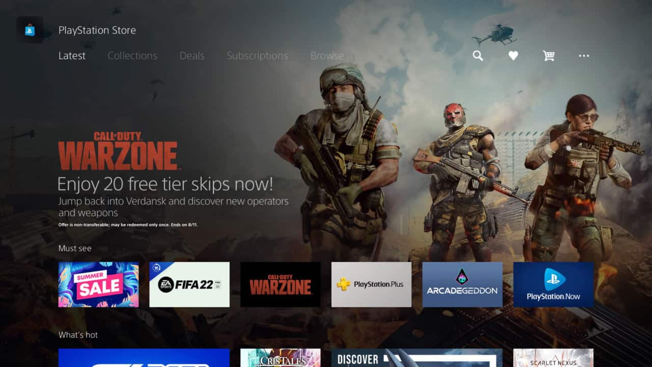 Call of Duty Warzone 20 Free Tier Skips