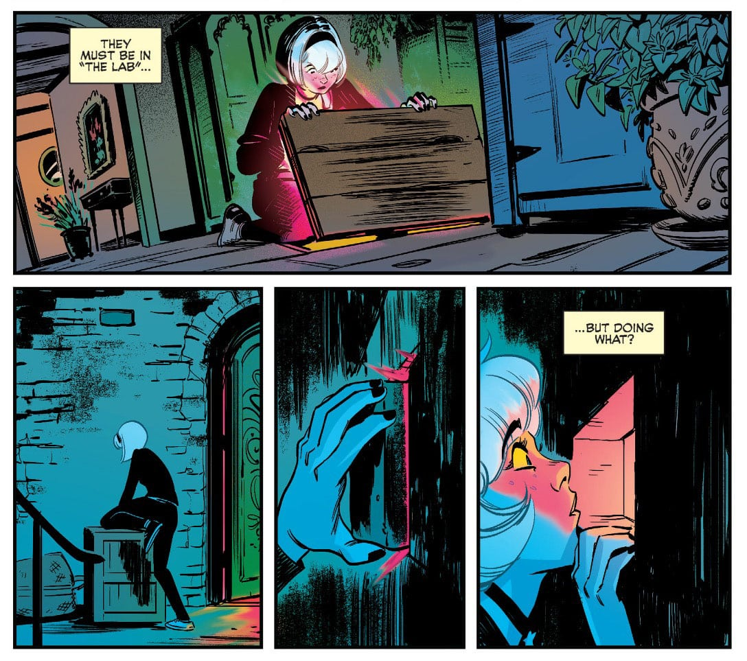 Sabrina the Teenage Witch Comic