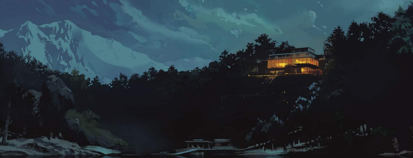 The Nice House on the Lake Comic