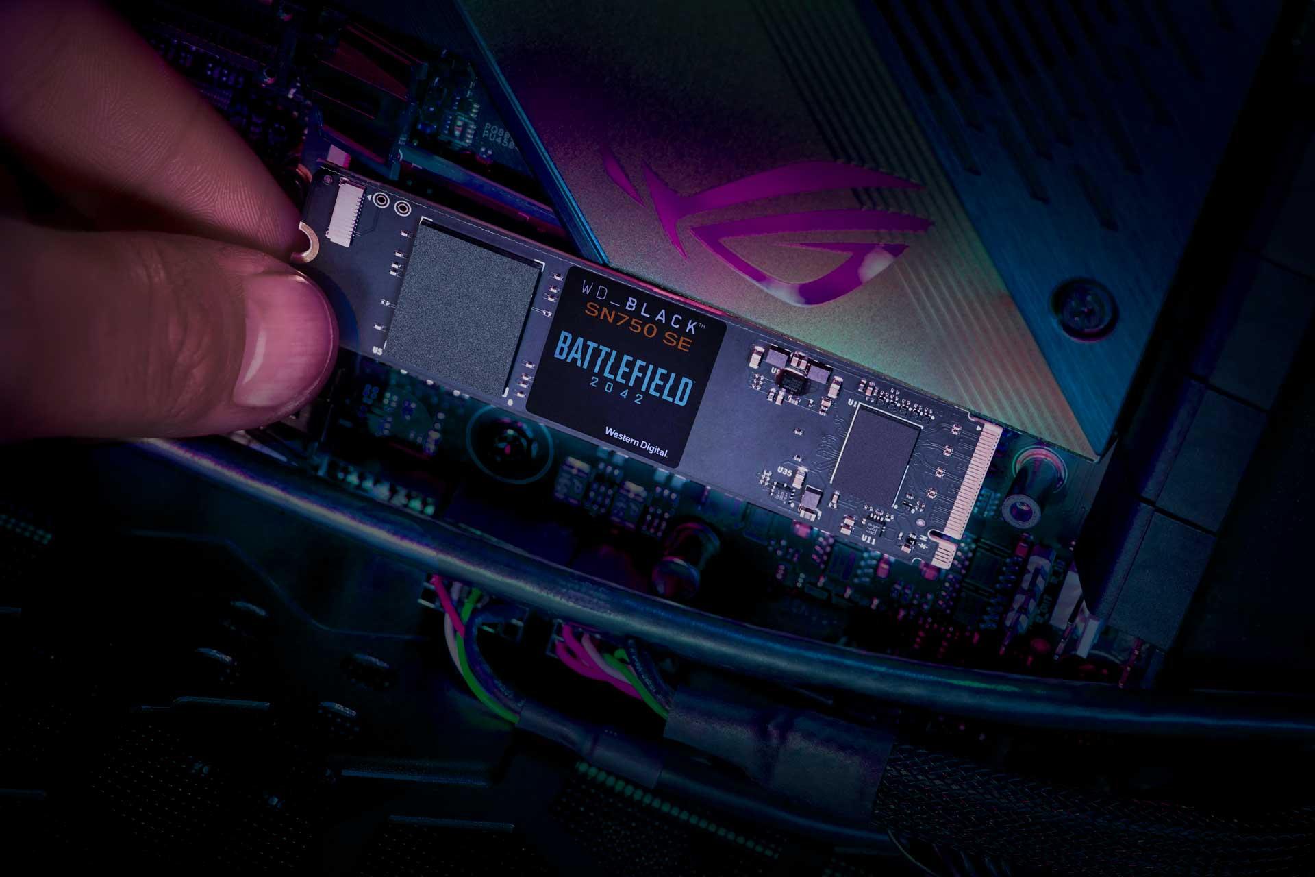 Battlefield 2042 WD_Black SN750 SSD