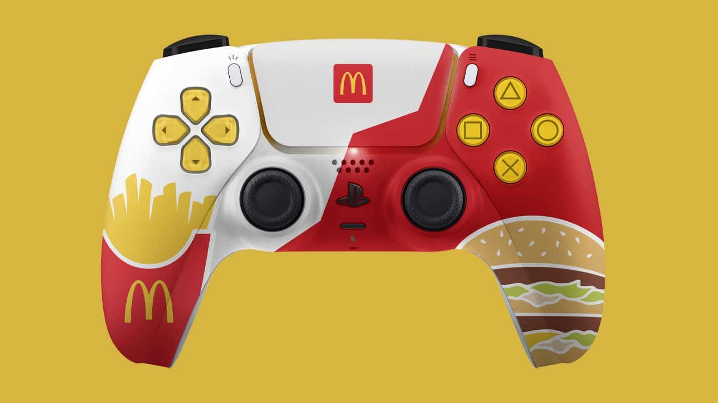 PS5 DualSense Sony McDonald's McDualSense
