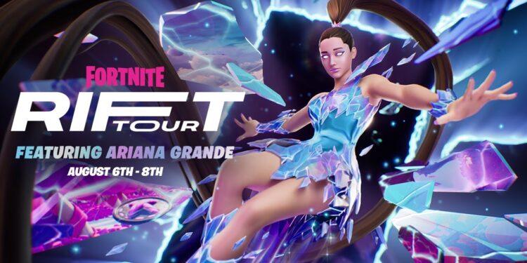 Fortnite Ariana Grande Rift Tour