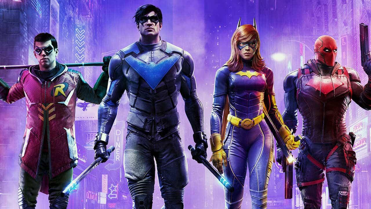 Gotham Knights Superheroes Games Batman Spider-Man