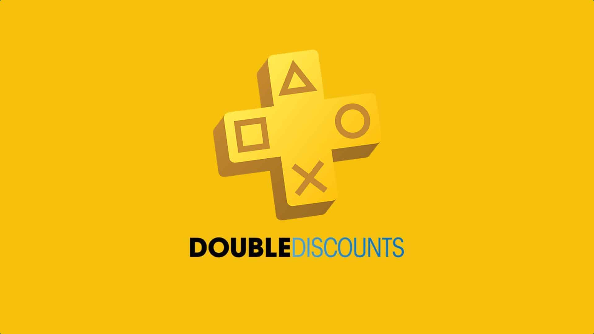 PlayStation Store Double Discounts Sale PS5 PS4