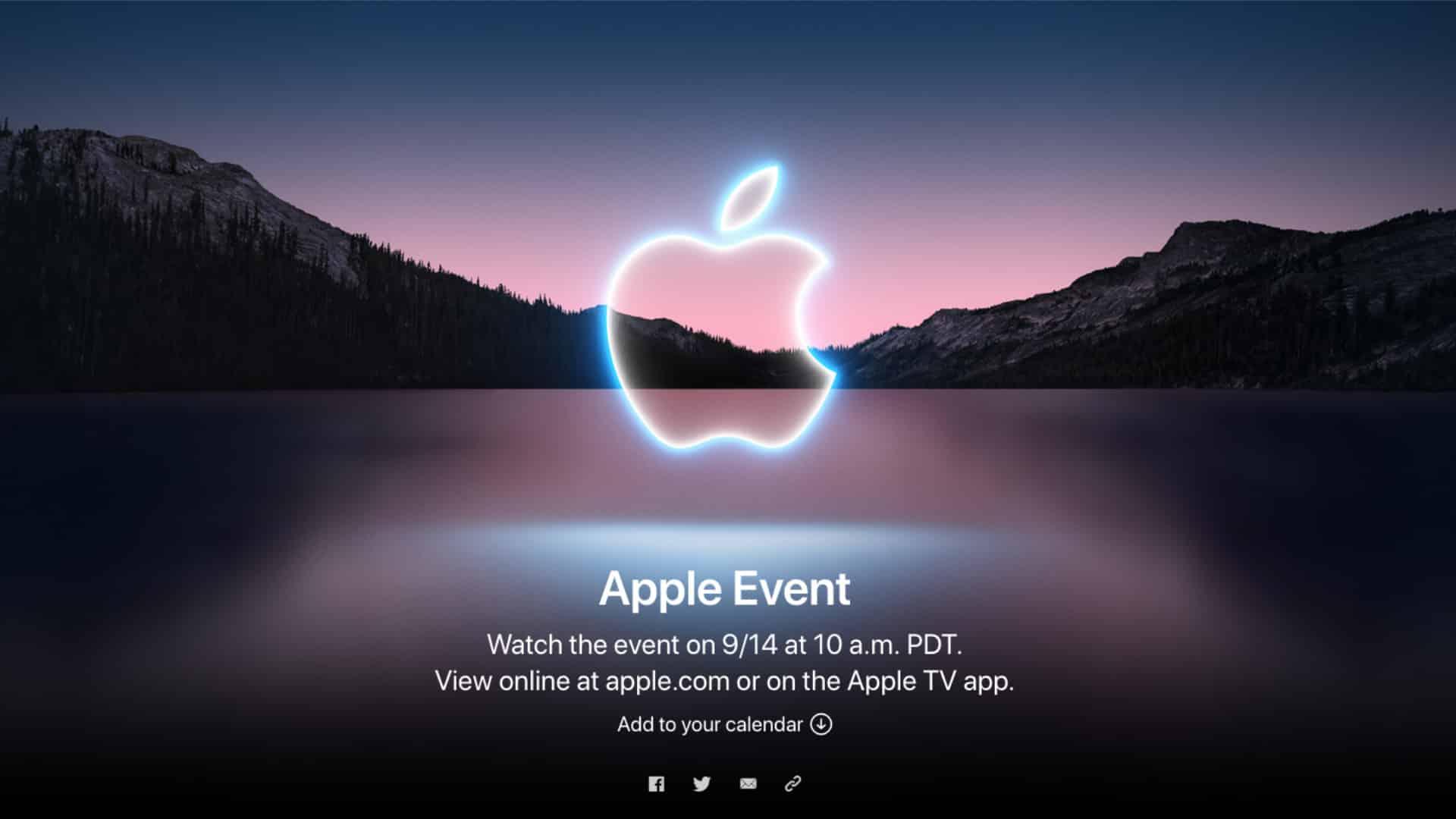 Apple September iPhone 13 Event