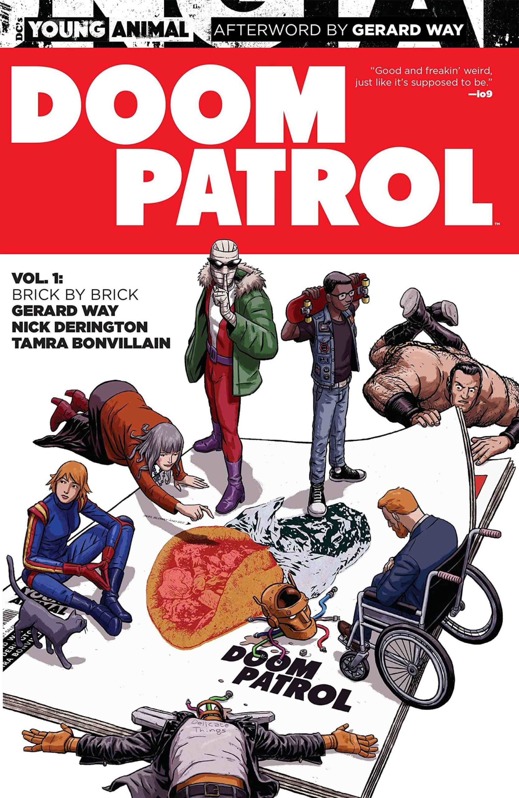 Doom Patrol Comics and TV Show