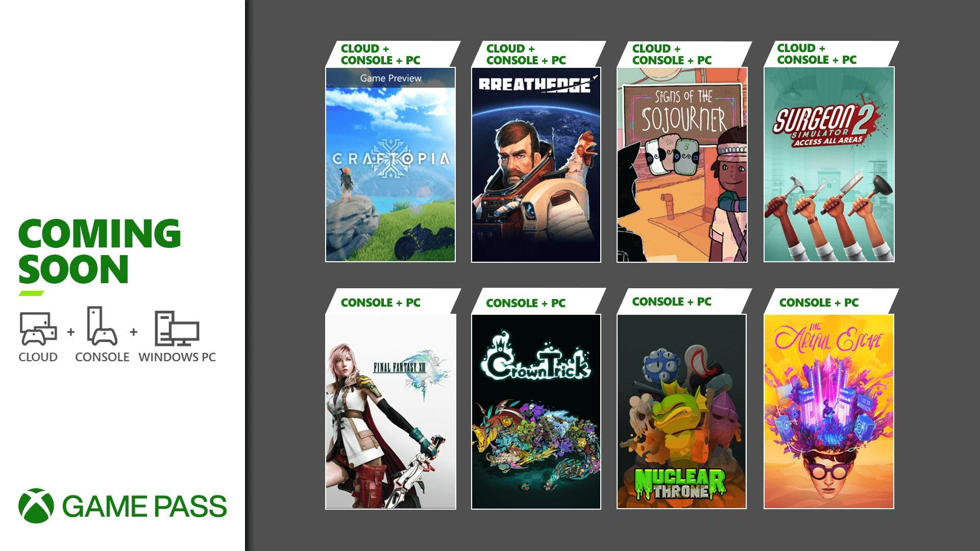 Xbox Game Pass September Games