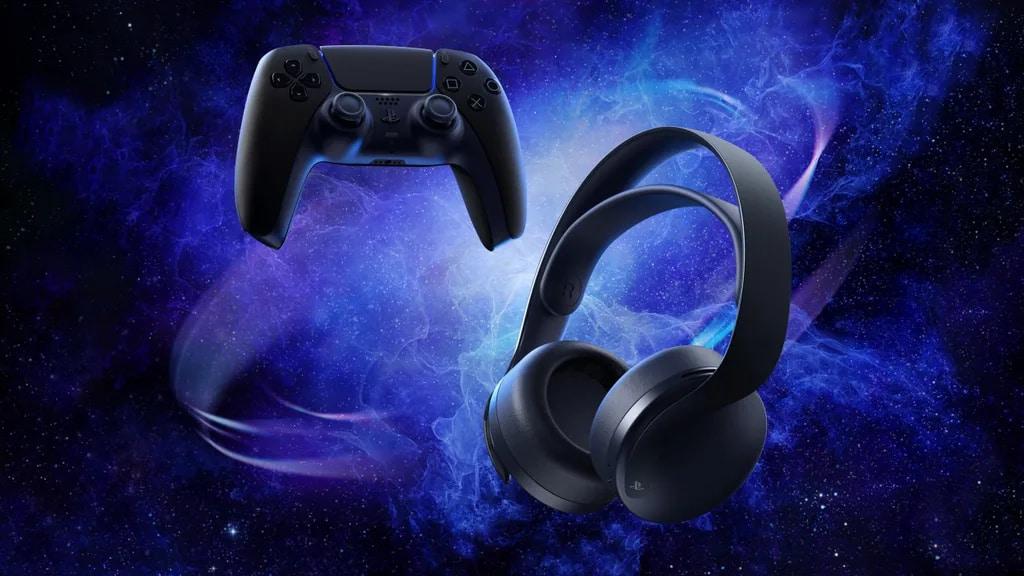 Midnight Black PlayStation 3D Pulse Headset