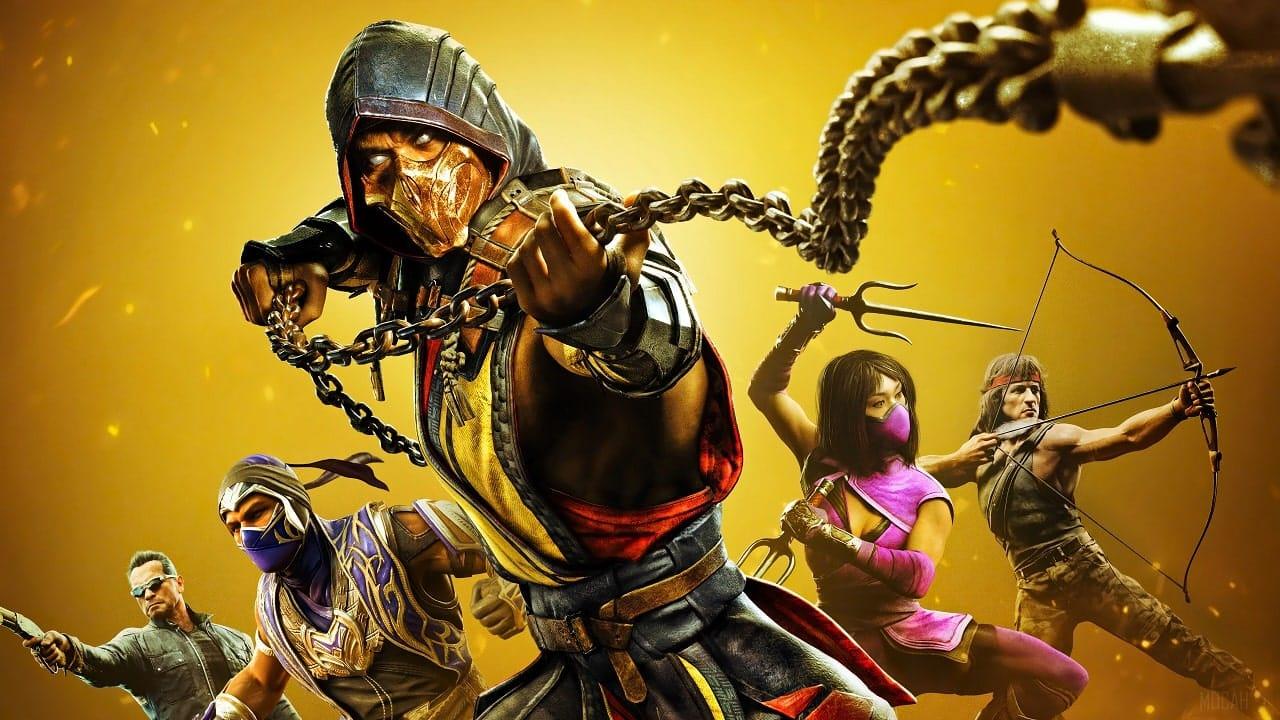 Mortal Kombat Get Over Here Scorpion