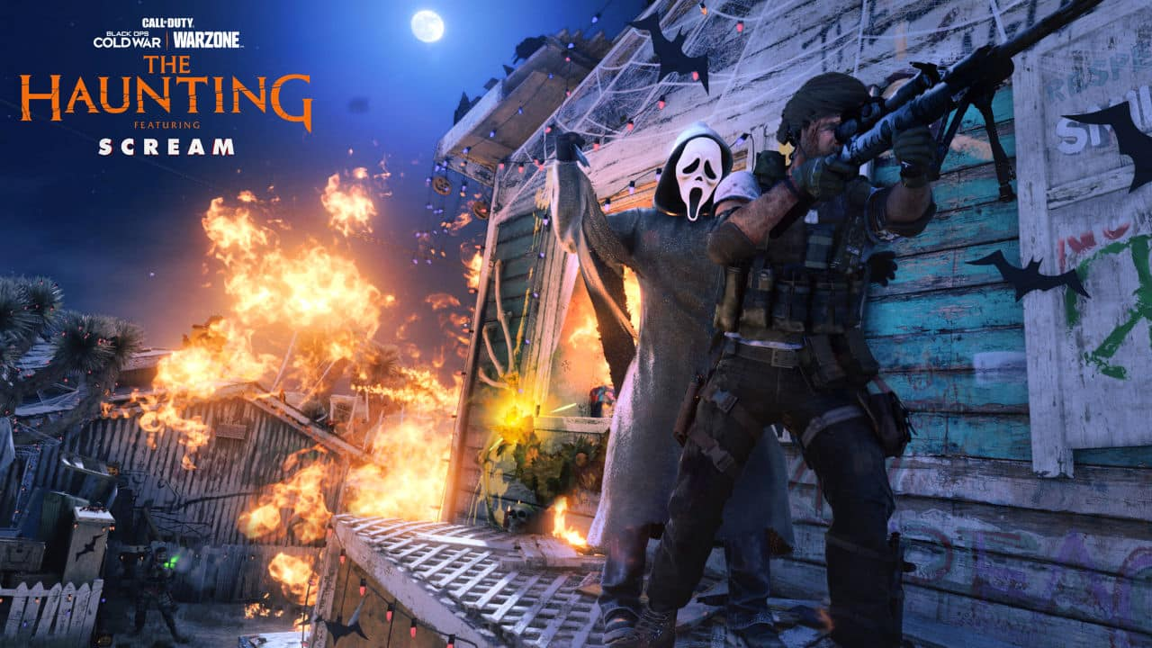 Call of Duty: Warzone Cold War The Haunting