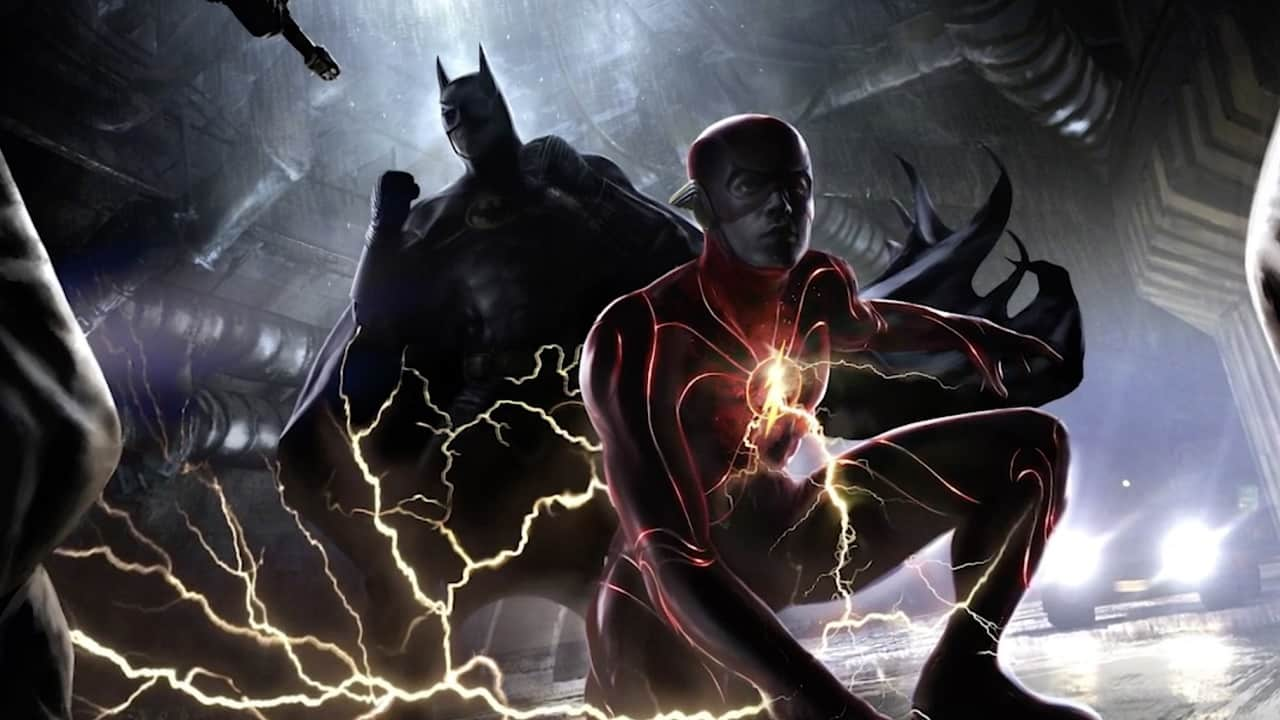 The Flash Trailer Batman New Suit
