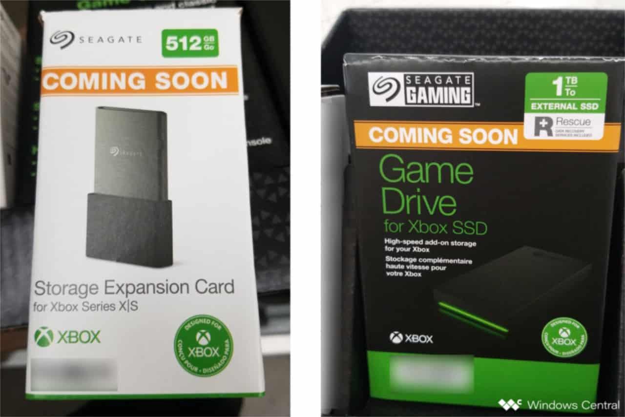 Xbox Series X 512GB Seagate Expansion Card