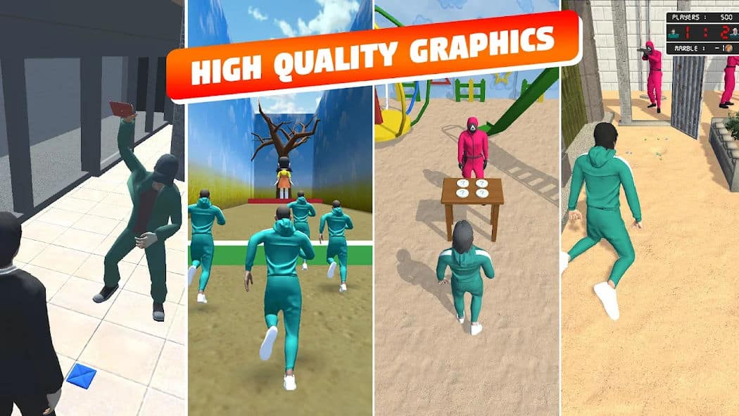 Squid Game Mobile Game SQ Game Challenge