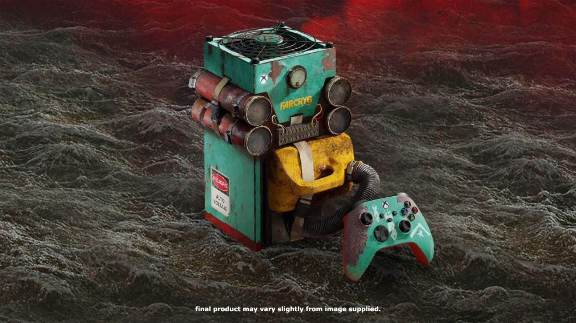 Far Cry 6 Custom Xbox Series X Console